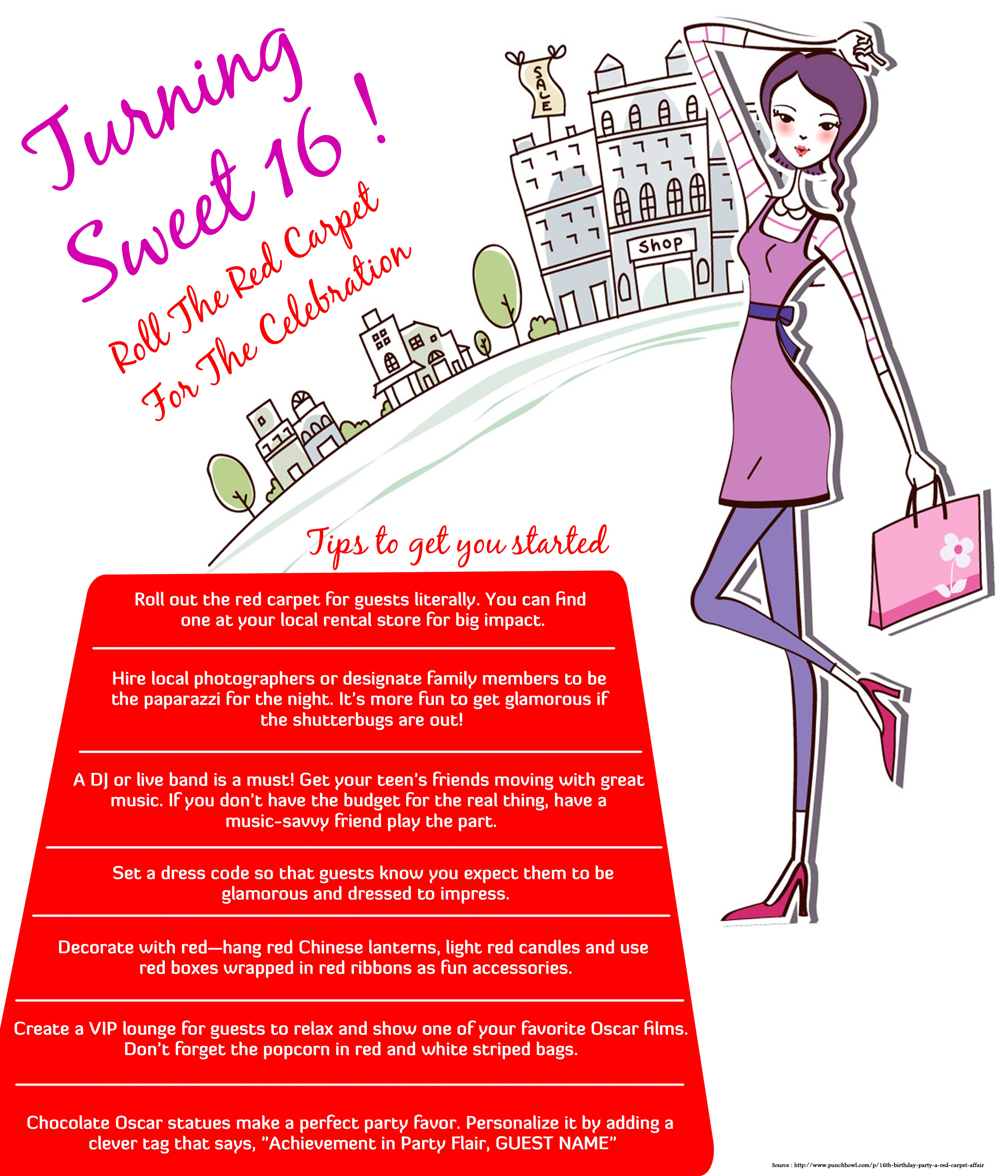 Tips for Planning Sweet-16 Bday Party
