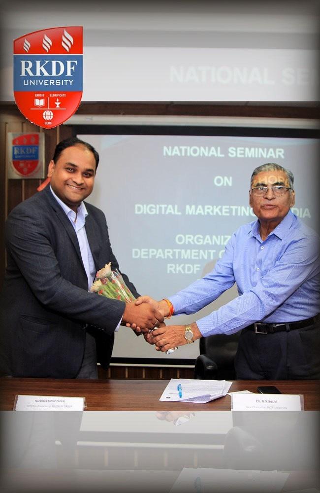 RKDF University Digital Marketing Course