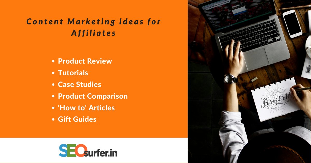 Content Ideas for Affiliate Marketers 2021