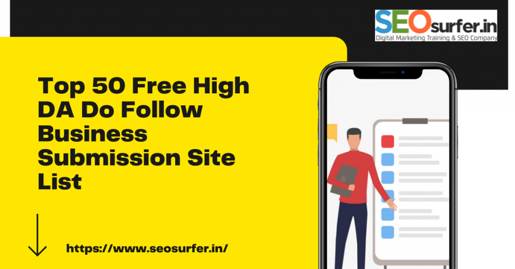 Top 50 Business Submission Site List