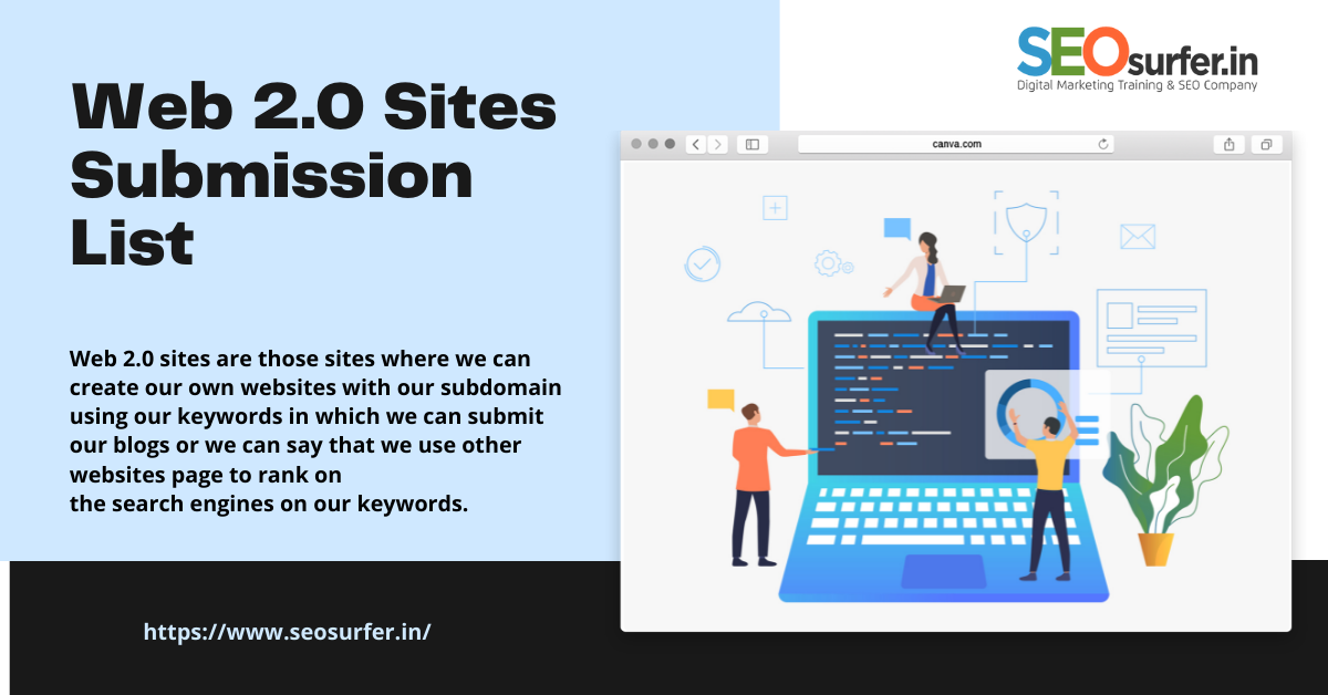 Top Free High DA Do-Follow web 2.0 Submission Sites